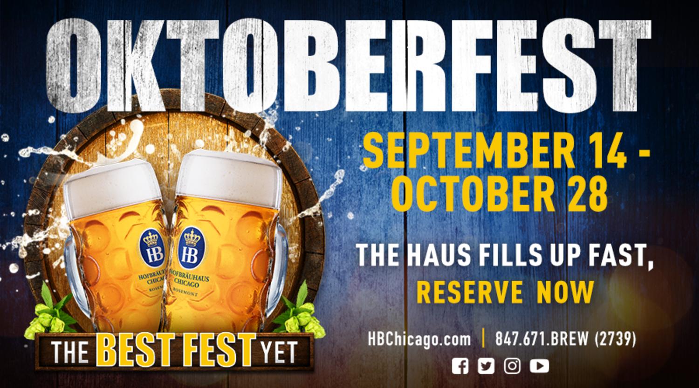 Oktoberfest Sept. 14 - Oct. 28! | Hofbrauhaus Chicago