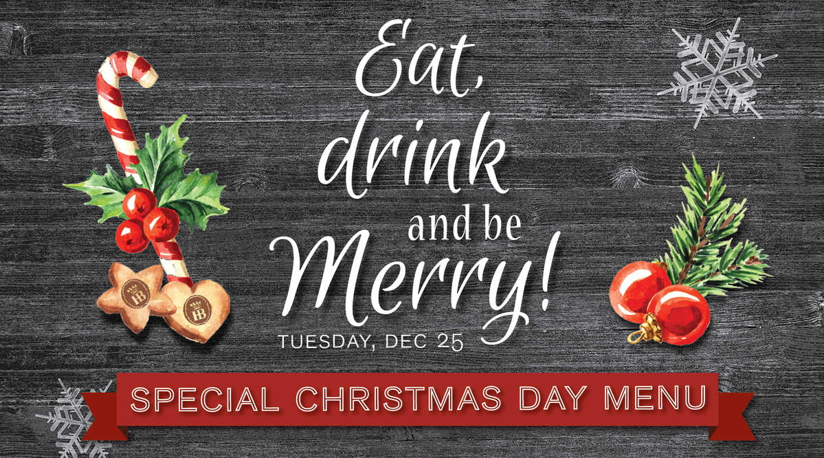 Enjoy a Special Christmas Day Menu at our Haus! | Hofbrauhaus Chicago