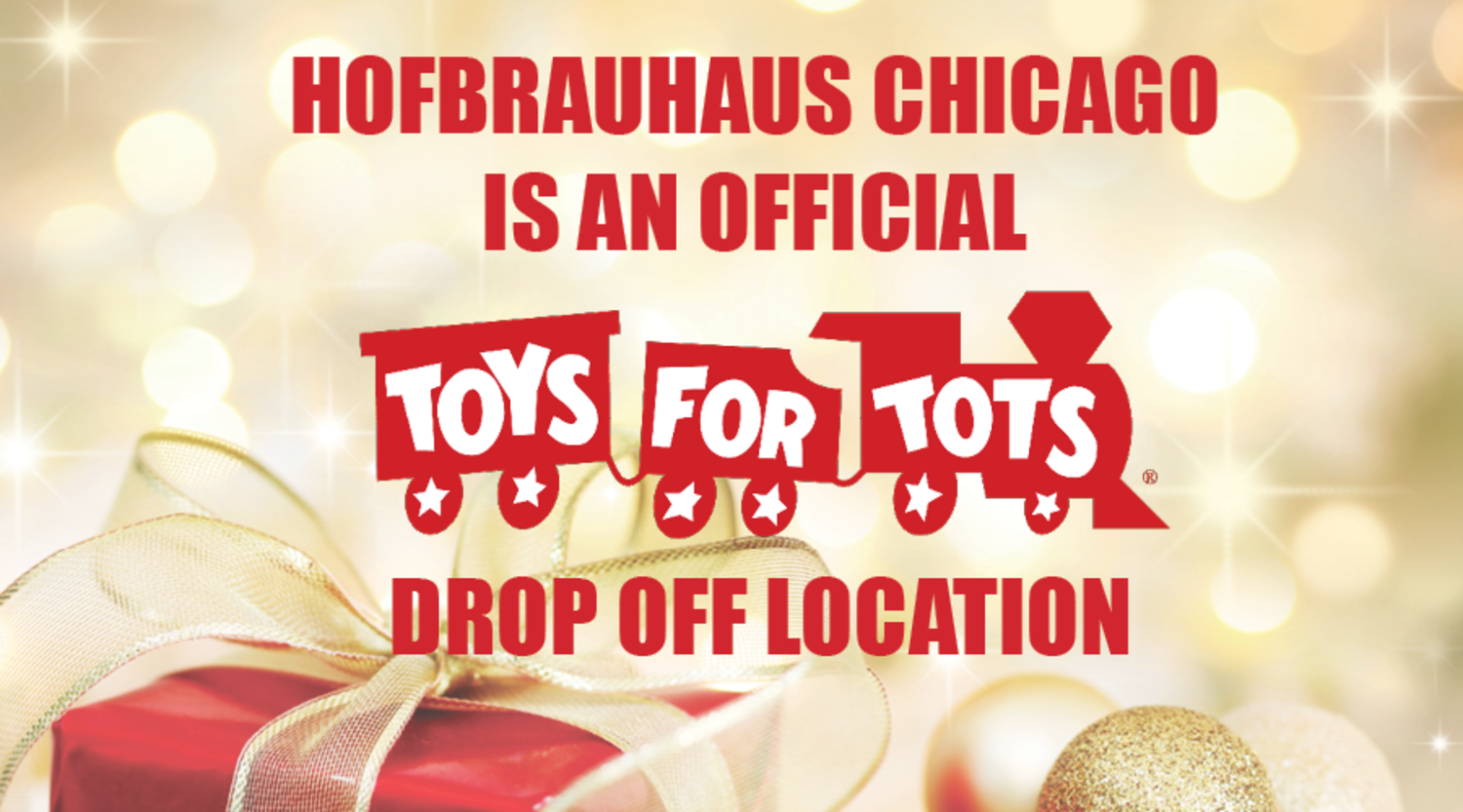 Holiday Fun December 05 2018 We Re A Toys For Tots Drop Off Location