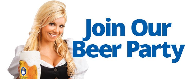 Join Our Beer Party